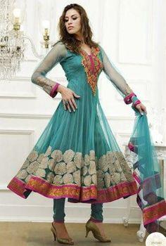 Stylish Pakistani Frock Neck Patterns