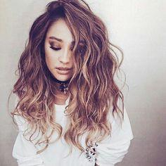 //pinterest @esib123 // #hair #hairstyle Shay Mitchell