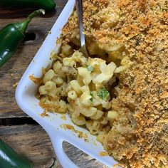 Spicy Mac 'n' Cheese Spicy Mac And Cheese, Macaroni And Cheese, Pesto Potatoes, Stuffed Jalapeno Peppers, Cauliflower, Dishes, Vegetables, Hot, Ethnic Recipes