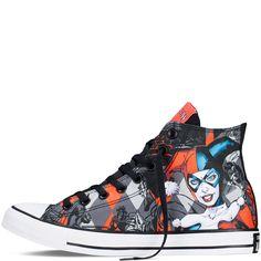 abd03a3d5b49 Converse - Chuck Taylor DC Comics Harley Quinn - Red - Hi Top New Outfits
