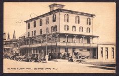 Blairstown Inn, Blairstown, NJ Postcard (F. P. Bunnell & Son) Parked Cars in Collectibles, Postcards, US States, Cities & Towns | eBay