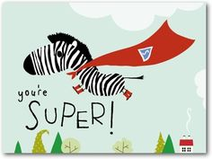 Business Christmas Cards & Business Holiday Cards At Tiny Prints Corporate. Zebra Illustration, Illustration Sketches, Zebra Cartoon, Friends Valentines Day, Business Christmas Cards, Animal Magic, Tiny Prints, Cute Characters, Kids Cards