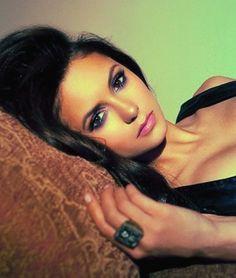 "Nina Dobrev of ""The Vampire Diaries."" (2012 List: The CW's 20 hottest women) SLIDESHOW #examinercom"