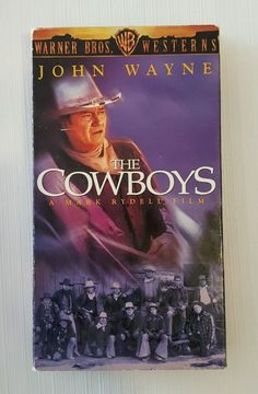 The Cowboys (VHS, 1997, Warner Bros. Westerns Collection) John Wayne in DVDs & Movies, VHS Tapes | eBay