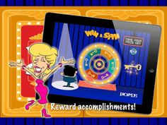 Win A Spin HD ($0.99) a colorful, exciting and easy to use app that will keep your kiddos motivated to behave day-in and day-out! Personalize your wheel by entering up to six unique prizes. (special snack, extra computer time, sticker, cool pencil, free recess, lunch with the teacher, etc.) Type in anything you'd like! These are the prizes that will show up on your spinner. Setting up your wheel is a snap. And feel free to change out your prizes anytime you'd like. You control what is reveal...