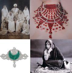 Chez Agnes: La Joyería Art Déco III: Las Joyas de los Marajás #jewelry #chezagnes #artdeco