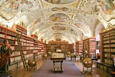 Strahov Monastery Library | 25 Incredible European Libraries To Visit Before You Die