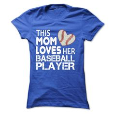 This mom lover her baseball player