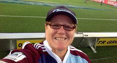 True Blue HQ Fan of the Week - April 2013 Rugby, Blues, Fan, Hand Fan, Fans, Football
