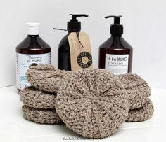 Love Crochet, Knit Crochet, Crochet Scrubbies, Knit Vest Pattern, Crochet Kitchen, Home Made Soap, Fun Projects, Handicraft, Diy Gifts