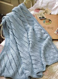 Quick Knit Baby Afghan Patterns Booklet. $5.00, via Etsy.