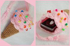 Genius idea! Ice cream phone case *_* Love it!