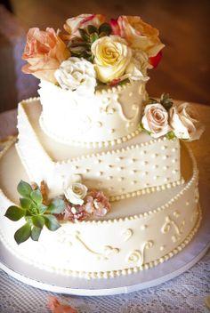 Celebrations: www.TheEventPro.com, #Durango Colorado Wedding Planner, #vintage ranch mountain wedding, #square and round wedding cake, illuminarts photography