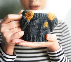 Items similar to PDF pattern)) Coffee mug cozy / cup cosy on Etsy Good Morning Coffee Cup, Yarn Crafts, Diy Crafts, Mug Cozy, Cool Gifts, Arm Warmers, Cosy, Knit Crochet, Coffee Mugs