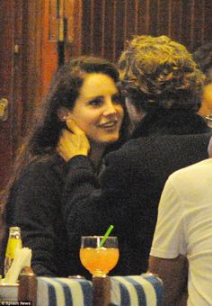 Lana and Francesco Carrozzini in Italy on June 30. Click on the link below for more pictures of the two lovelies together. Pictures are sharing the two having dinner, driving around on the vespa, and holding one another with small kisses, as it's soon decided that Lana could be with the photographer.
