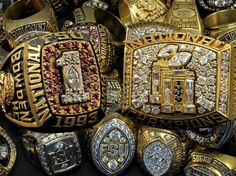FSU Football Championship Rings Picture at Florida State Photo Store Florida State University, Florida State Seminoles, Florida State Football, Seminole Football, College Football Championship, College Football Teams, Championship Rings, National Championship, Football Helmets