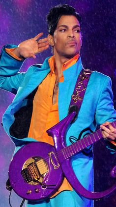 Prince.....not a lot of people realize that he is a musical genius...Love me some Prince!!