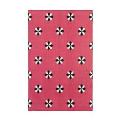 Hot Pink Jacqueline Cotton Carpet Madeline Weinrib Obsession