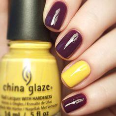 Yellow & Purple