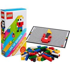 Lego-Life-of-George. Build Lego models on the interactive build mat, the app determines how quickly and accurately models are constructed. A great find for the budding architect. Lego Board Game, Board Games, Building Games, Lego Building, Ipad Accessories, Buy Lego, Lego Projects, Best Iphone, Iphone App