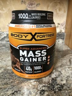 Body Fortress Super Advanced Mass Best Mass Gainer, Mass Building, Skinny Guys, Protein Sources, Weight Gain, Muscle, Good Things, Sources Of Protein, Muscles