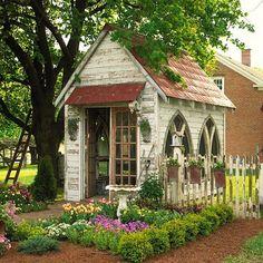 adore..this garden folly ♥