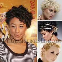 short hairstyles for curly hair women | Very Short Curly Hairstyles | The Glamourous Life: Celebrity Fashion ...