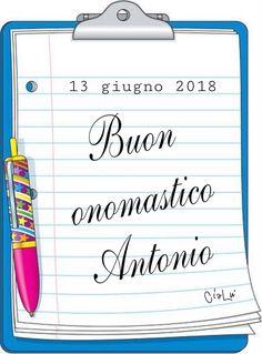 Buon onomastico Antonio