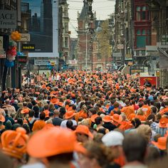 Queens Day - Amsterdam No more queensday becose we have a king now. King Alex