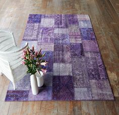 Nomad Home - Purple Turkish patchwork rug - $2400  Shop the collection now! http://originals.com.sg/collections/turkish-rugs-back-in-stock