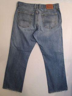 #116-Women's  * LUCKY BRAND *  Button Fly Boot Cut Denim Jeans  Size 12/31 #LuckyBrand #BootCut