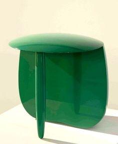 Aldo Bakker - porcelain Urushi Stool