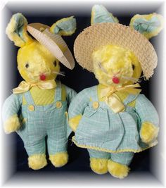 Vintage - 1940's Easter Bunny Rabbits