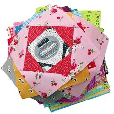 Red Pepper Quilts: Economy Block Tutorial - makes 5-1/2 inch square-in-a-square block