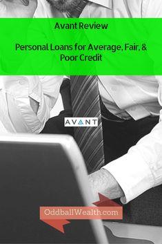 Avant Review - Personal Loans for Average, Fair, & Poor Credit