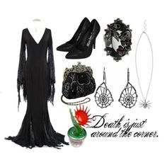 Morticia Addams from The Addams Family