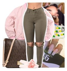 """""""."""" by theyknowtyy ❤ liked on Polyvore featuring Casetify, Michael Kors and Puma"""