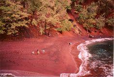 RedSand Beach (Kaihalulu Beach) on Maui.