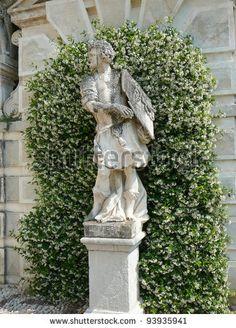 Ancient villa Pisani garden in Padua (Padova) in Veneto, Northern Italy