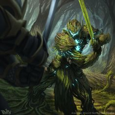 Mimicry by Brian Valeza : ImaginaryWarriors Fantasy Warrior, Fantasy Rpg, Fantasy Races, Dark Fantasy Art, Medieval Fantasy, Dark Art, Monster Concept Art, Fantasy Monster, Monster Art