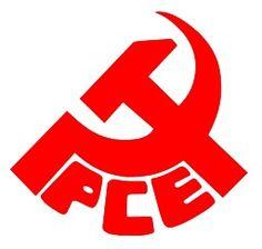 Logotip del Partido Comunista de España (1920), es simbolica ya que tiene la oz y el martillo que representa a la realidad y tiene significado partido político.