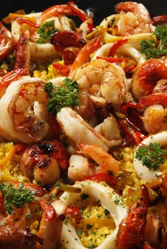 Great Seafood Paella Recipe