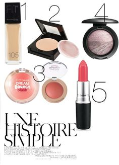 """""""Makeup look"""" by l0vel-y on Polyvore"""