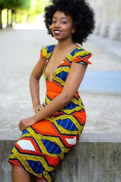 African Wax Print Dress Styles 2020 Collection with different Photos and Pictures are shared. These African Wax Print Dress Styles are famous all over the African Dresses For Women, African Print Dresses, African Attire, African Wear, African Women, African Prints, African Style, African Outfits, African Inspired Fashion
