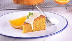 Tarta de polenta y naranja - Receta - Canal Cocina