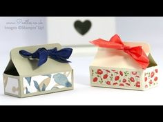 Mini Chocolate Bar Box Tutorial