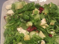 Avocado and Red Bean Salad