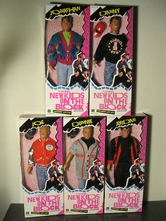 Hasbro New Kids on The Block Dolls Complete Set Fashion Figures | eBay