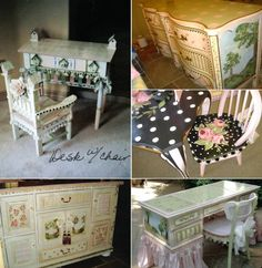 Lora Hulsman - hand painted furniture