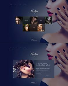 Template 49656 - Beauty Salon Website Template